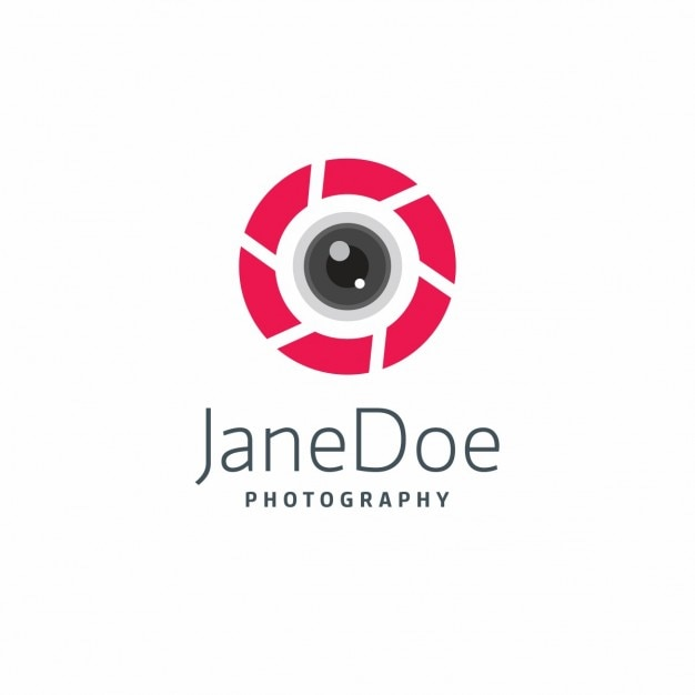 Modern Photography Logo Template Free Vector