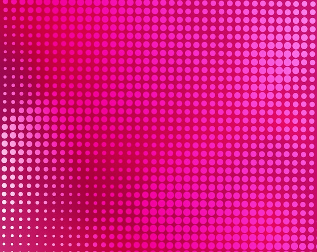 Modern pink abstract halftone background Premium Vector