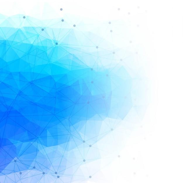 Modern polygonal technology background