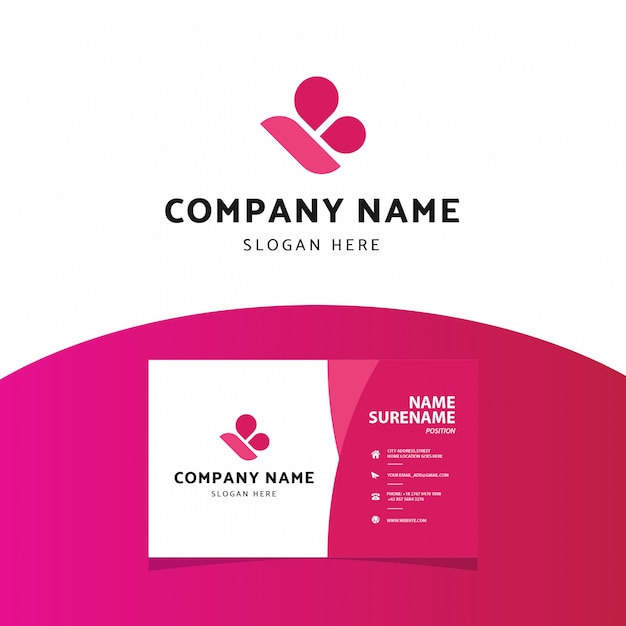 Modern professional letter b logo  business card template Premium Vector