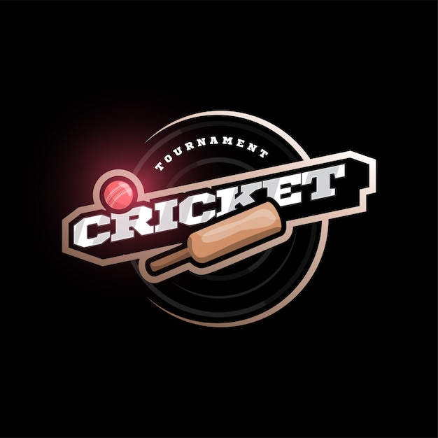 Premium Vector Modern Professional Typography Cricket Sport Super Hero Style Emblem And Template Logo Design With Ball,Responsive Web Design Breakpoints