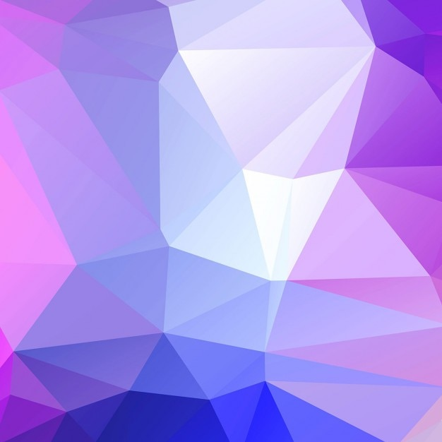 Purple Polygonal Abstract Background: Modern And Purple Polygonal Background Vector
