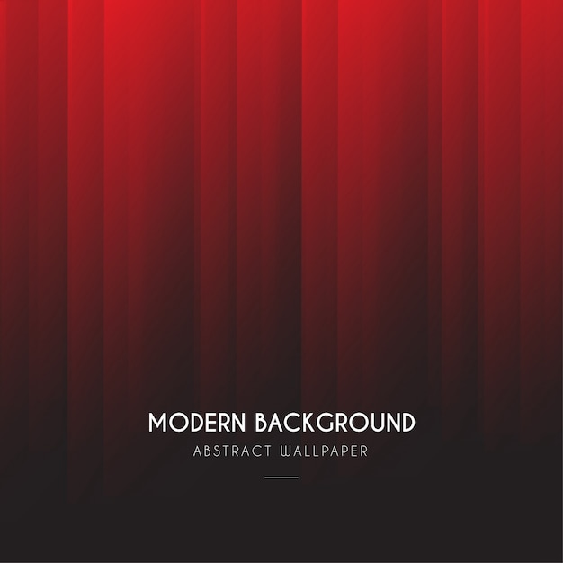 Modern red degrade background Free Vector