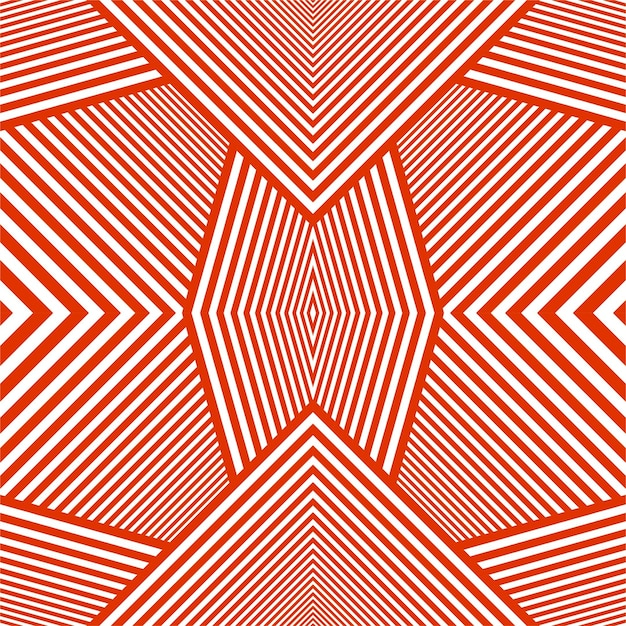 Modern red lines background