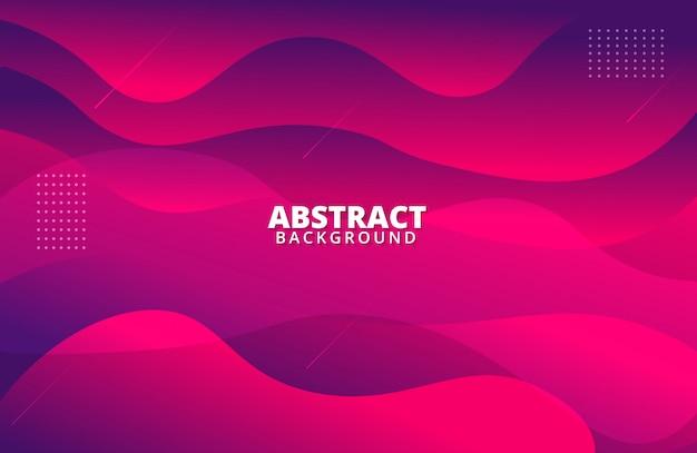 Modern red purple wave background Premium Vector
