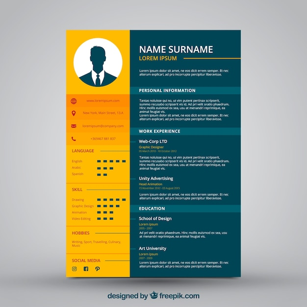 Modern Resume Templates Free | Sample Resume And Free Resume Templates