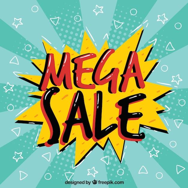 Modern sale composition