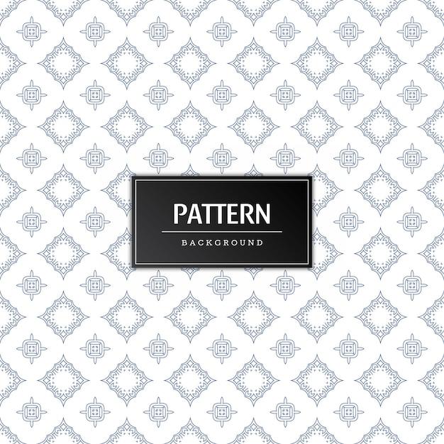 현대 원활한 패턴 최소한의 배경 무료 벡터