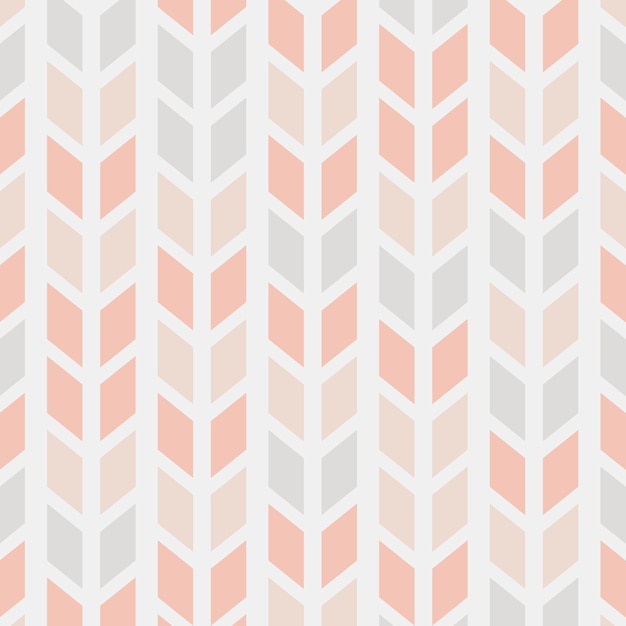 Modern seamless pattern vector illustration Free Vector