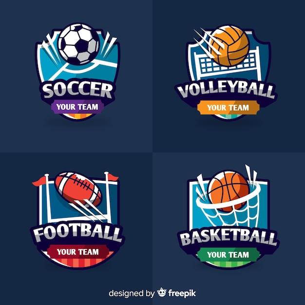 logos sports vector modern abstract