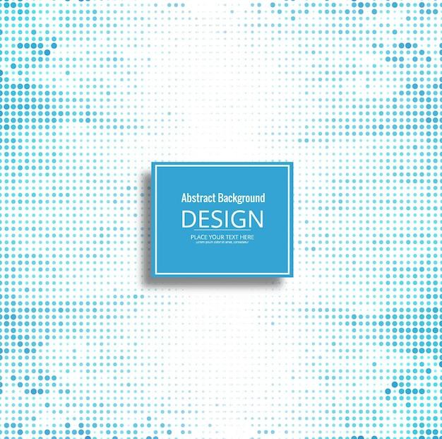 Modern shiny blue halftone background