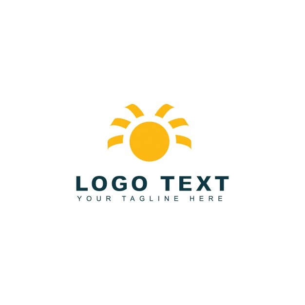 Modern solar logo