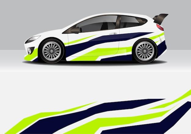 Современная спортивная абстрактная автомобильная пленка, автомобильная наклейка Premium векторы