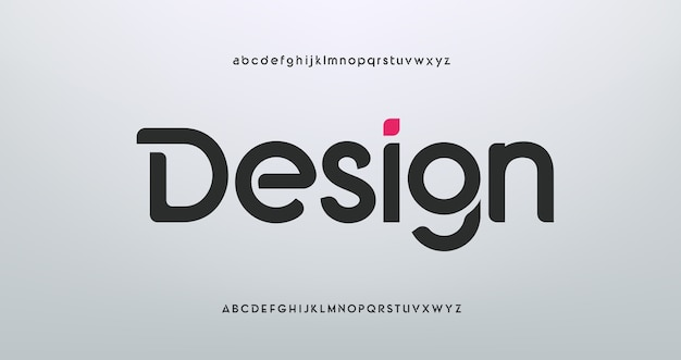 Современные спортивные шрифты алфавита Premium векторы