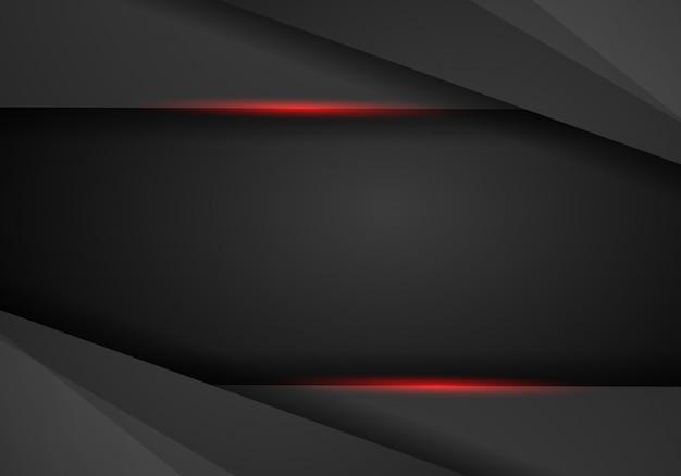 Modern tech design template background Premium Vector