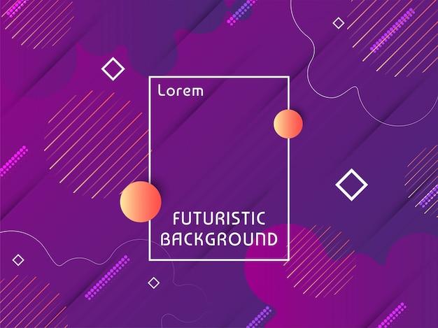 Modern techno futuristic background vector Free Vector