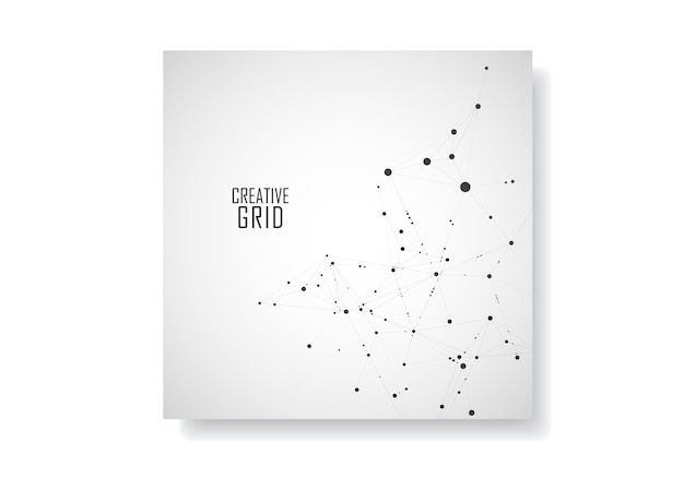 Modern technological cover Premium Vector