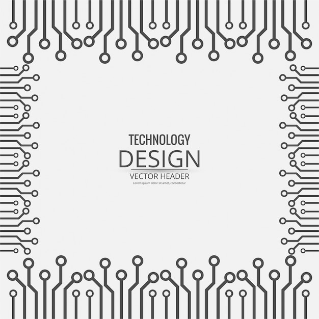 Modern technology background with\ pattern