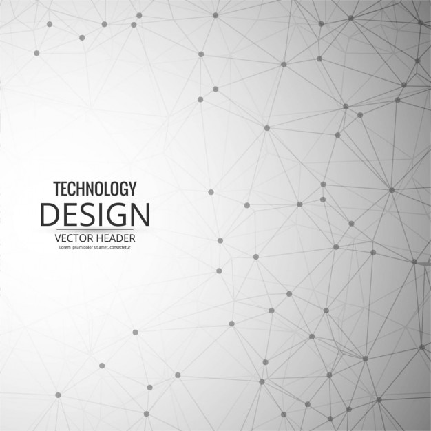 Modern technology background Free Vector