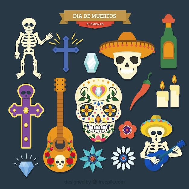 Modern variety of mexican elements