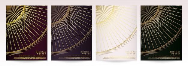Modern vector template for brochure leaflet flyer advert cover catalog magazine or annual report. Premium Vector
