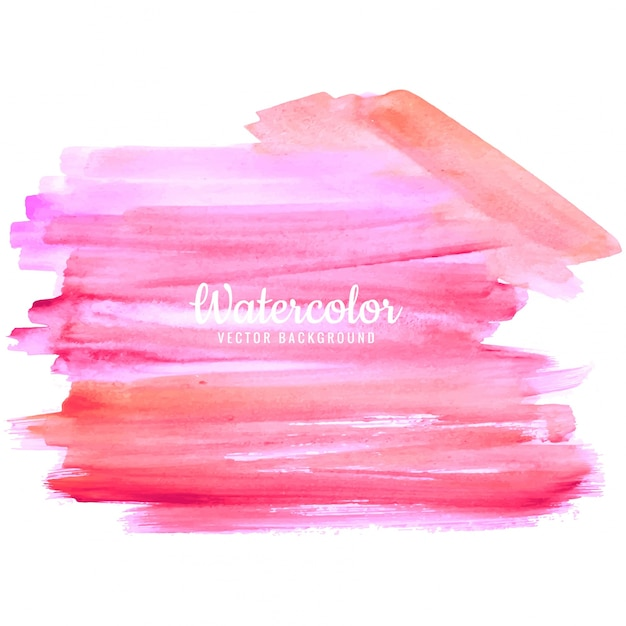 Modern watercolor background Free Vector