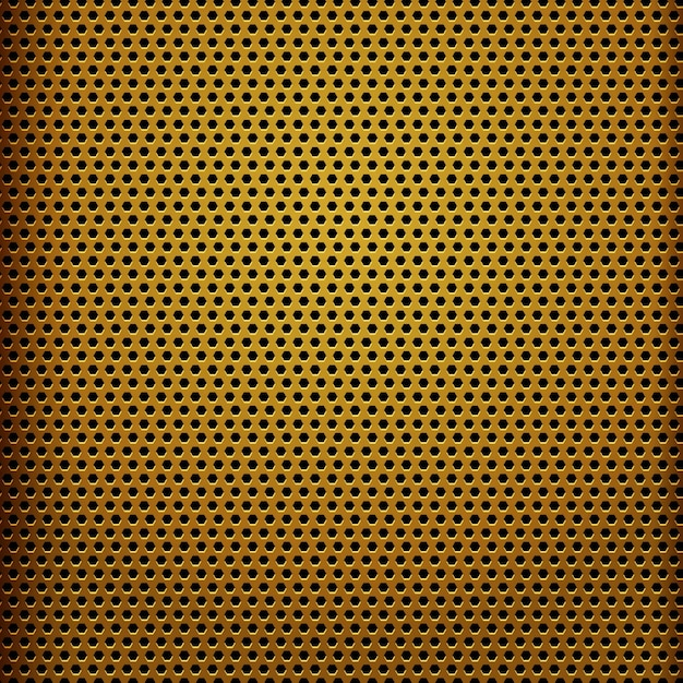 Modern yellow metal texture