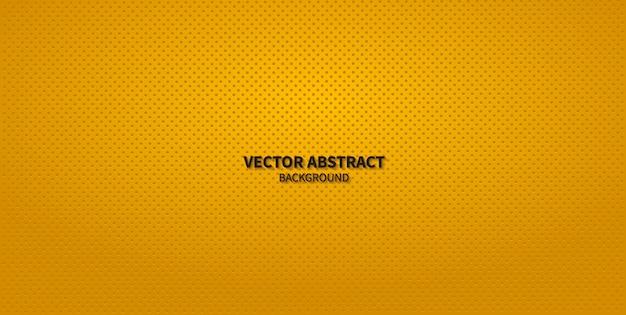 Modern yellow speaker grill texture background Premium Vector
