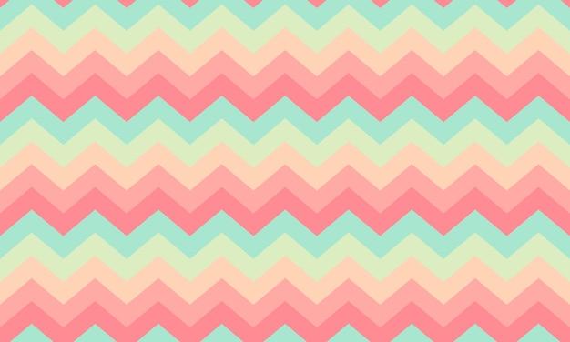 Modern zigzag seamless texture Premium Vector