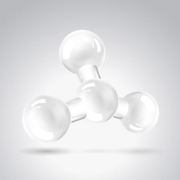 分子のクリップアート 無料ベクター