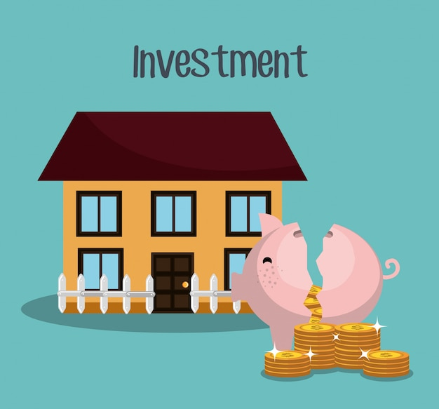 돈과 사업 투자 무료 벡터