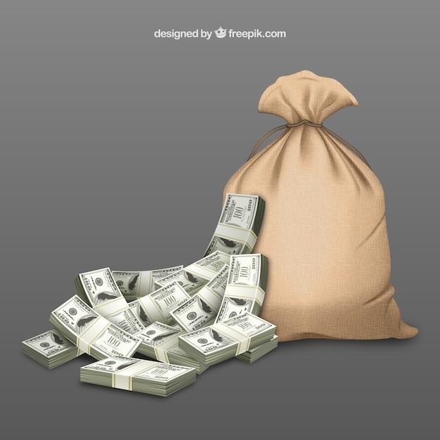 Money bag Free Vector