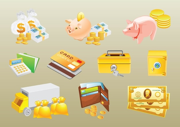 Money Vectors Free Vector