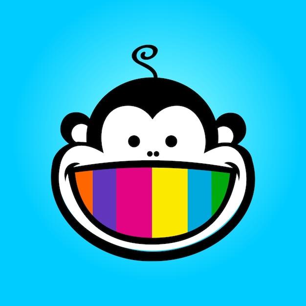 Monkey print Premium Vector