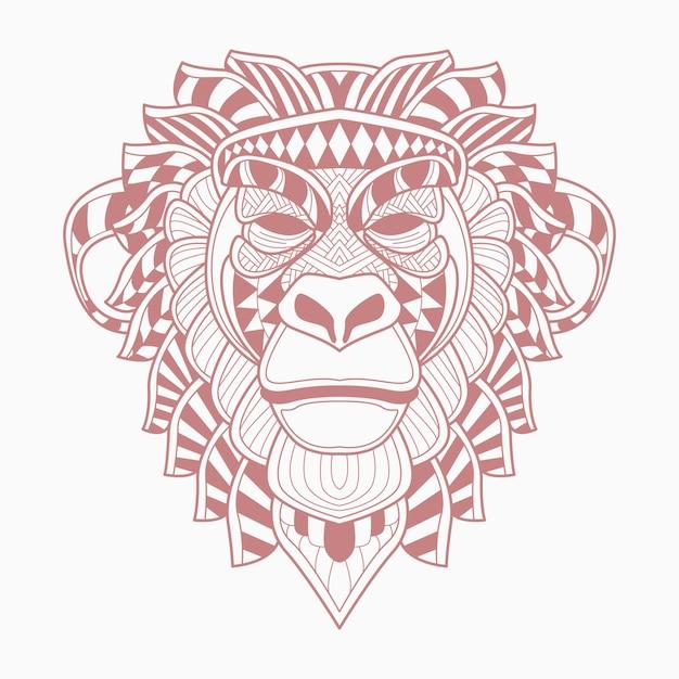 Monkey Premium Vector