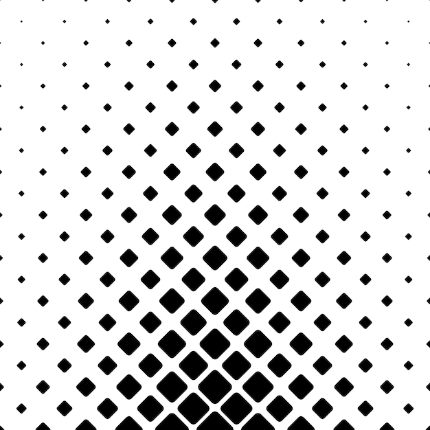 Monochromatic Design monochromatic abstract square pattern background - geometric