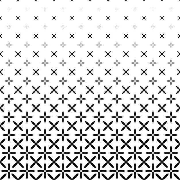 Monochrome Abstract Ellipse Pattern Background Black And White