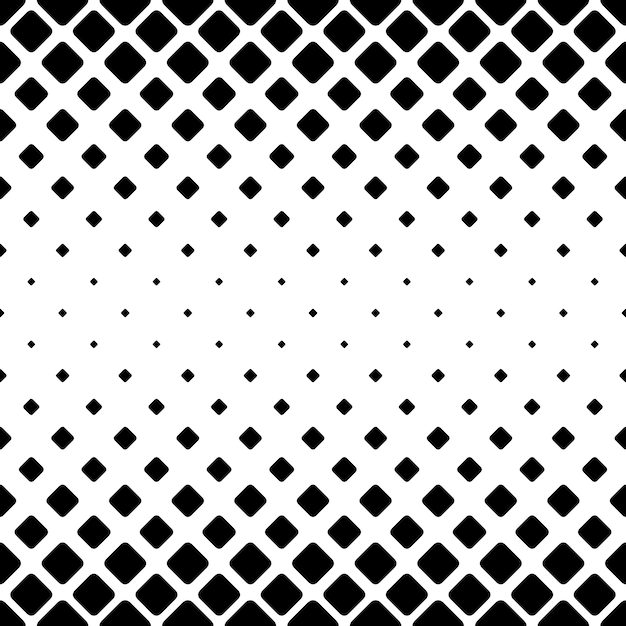 Monochrome Abstract Square Pattern Background Black And White