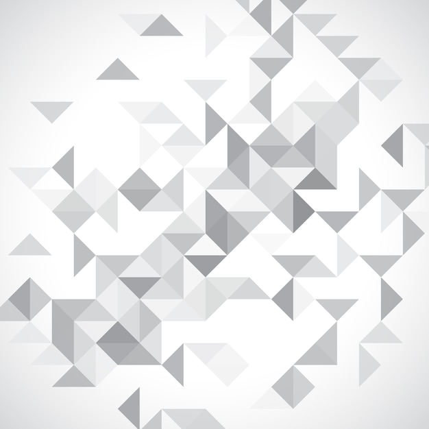 Monochrome low poly background Free Vector