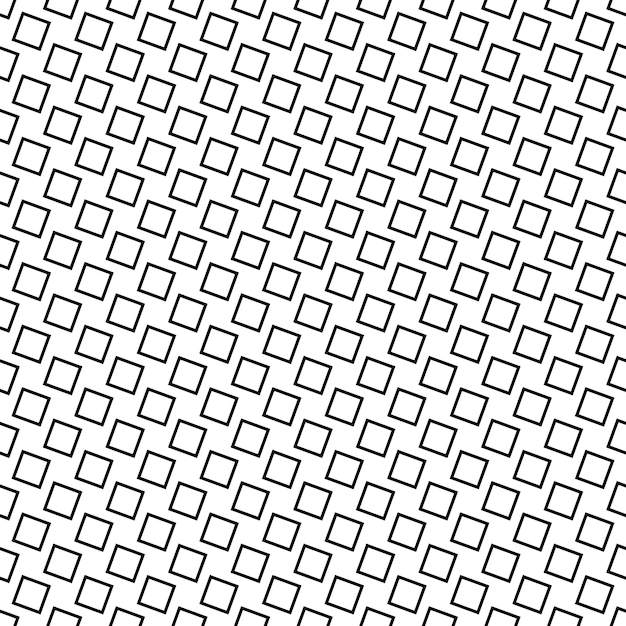 Monochrome Seamless Abstract Square Pattern Background