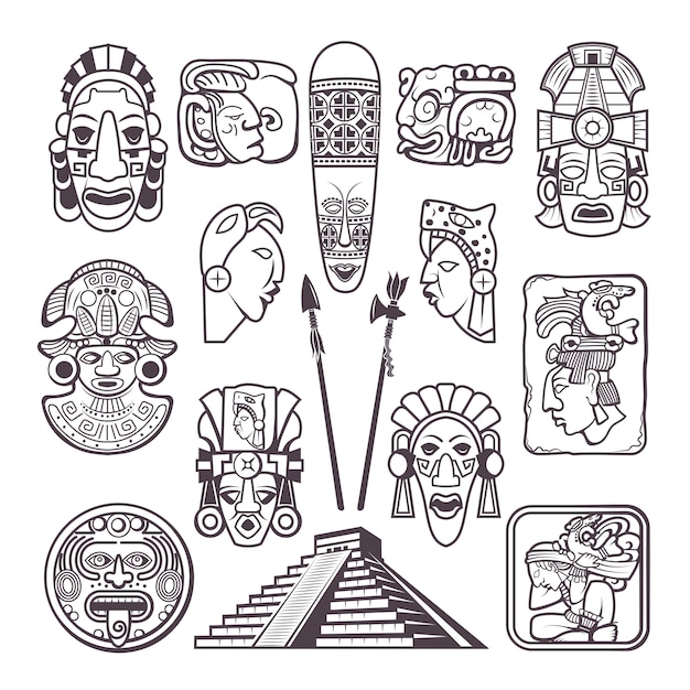 Mayan Tribal Symbols
