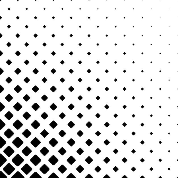 Monochrome Square Pattern Background Geometric Vector Illustration