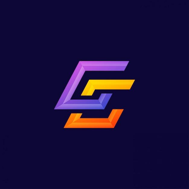 Premium Vector Monogram Letter Cc Logo Design Vector Template