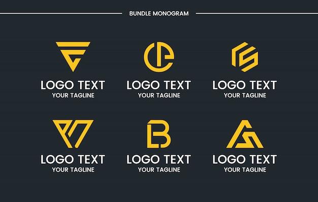 Premium Vector Monogram Logo Design