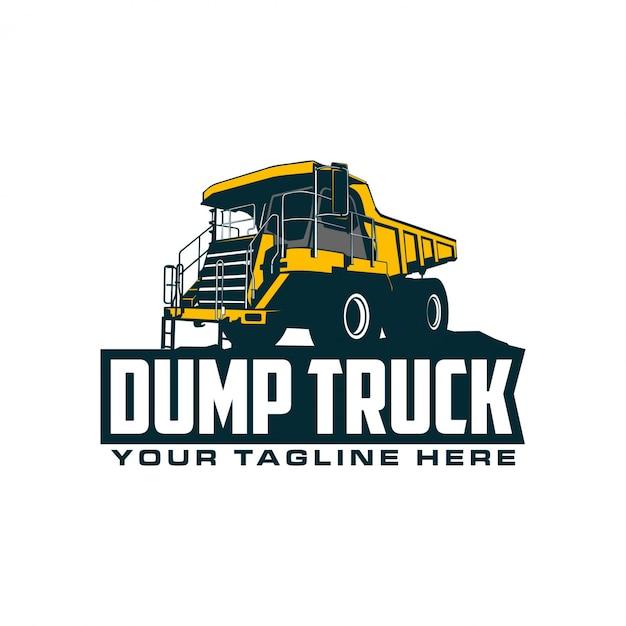 Monster dump truck Premium Vector