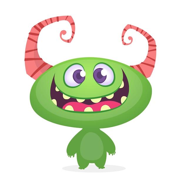 Monster Premium Vector