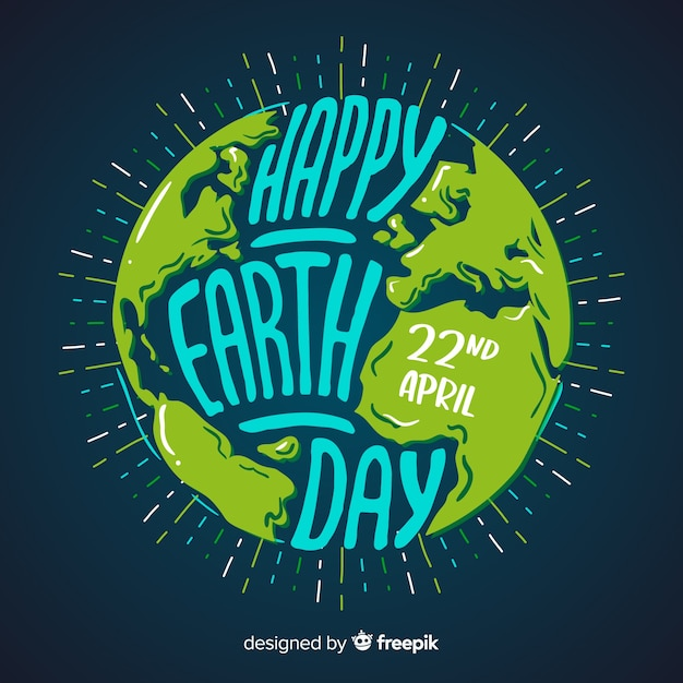 Mother earth day Premium Vector