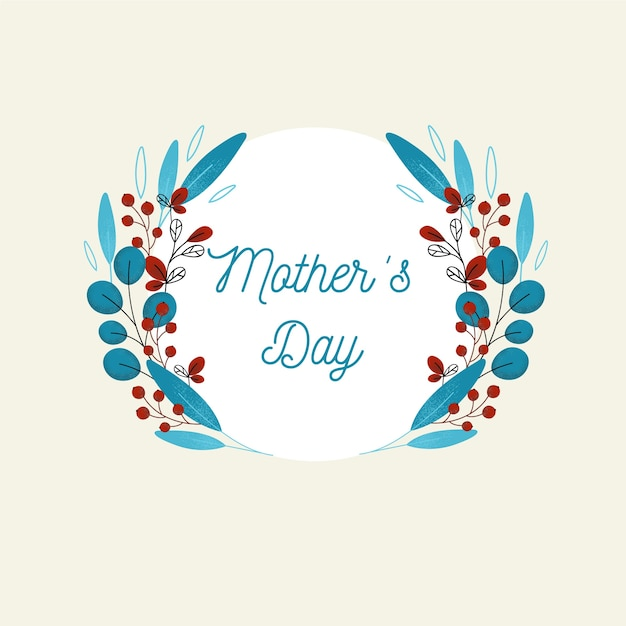 Mother's day background Free Vector