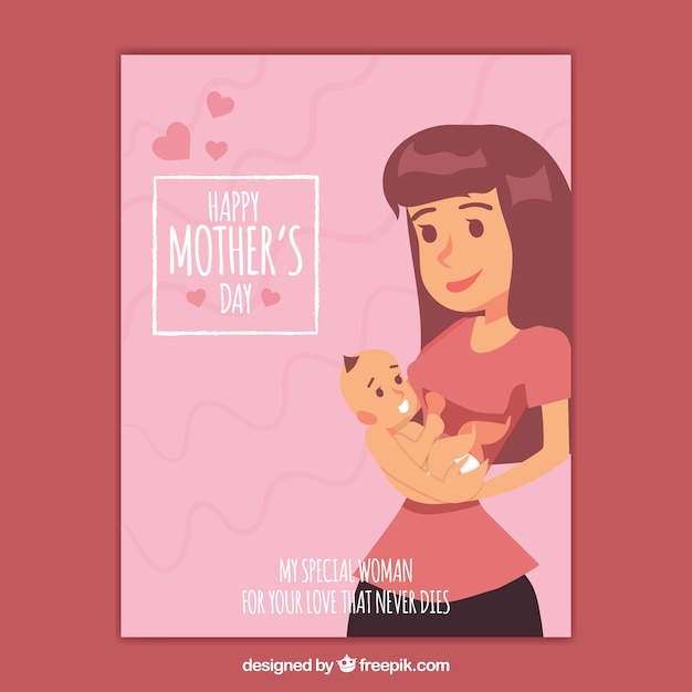 Mothers day greeting card vector free download mothers day greeting card free vector m4hsunfo