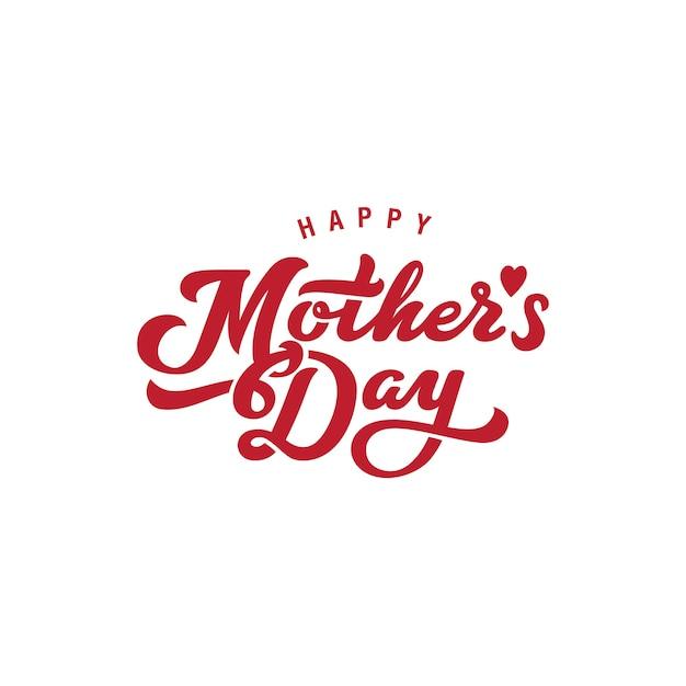 Icona del logo della festa della mamma. Vettore gratuito